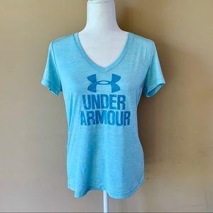 Under Armour women's size small blue shirt